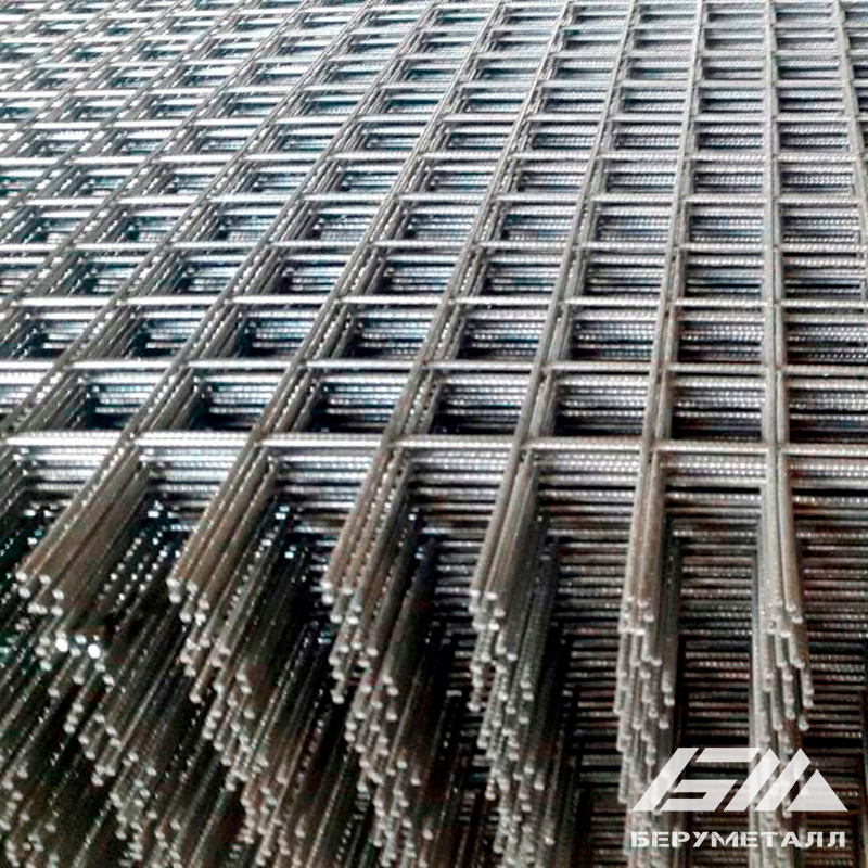 Фото - Сетка сварная 50х50х2,5 мм, размеры 1х2 м.